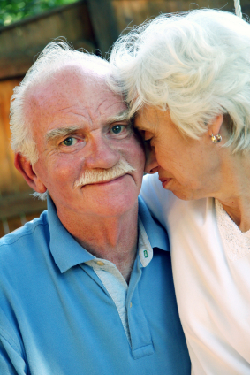 Why-Home-Care_senior-couple_blue-and-pink-shirts